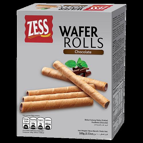 ZESS WAFER ROLLS Chocolate  100G