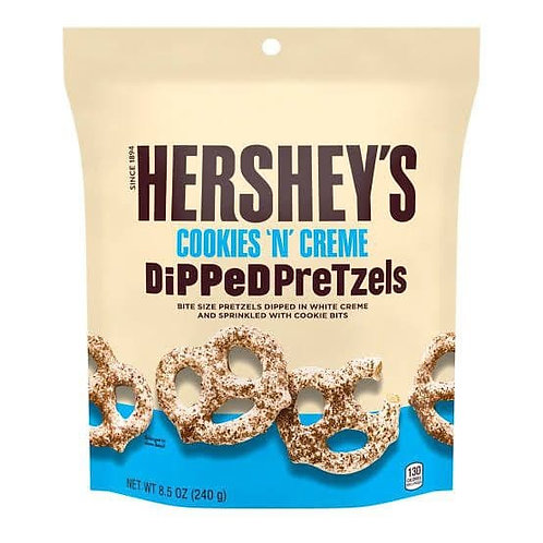 Hershey's white chocolate pretzels