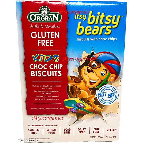 Orgran choc chip Biscuits