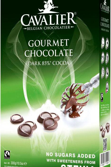CAVALIER GOURMET CHOCOLATE DARK 85% COCOA 300G