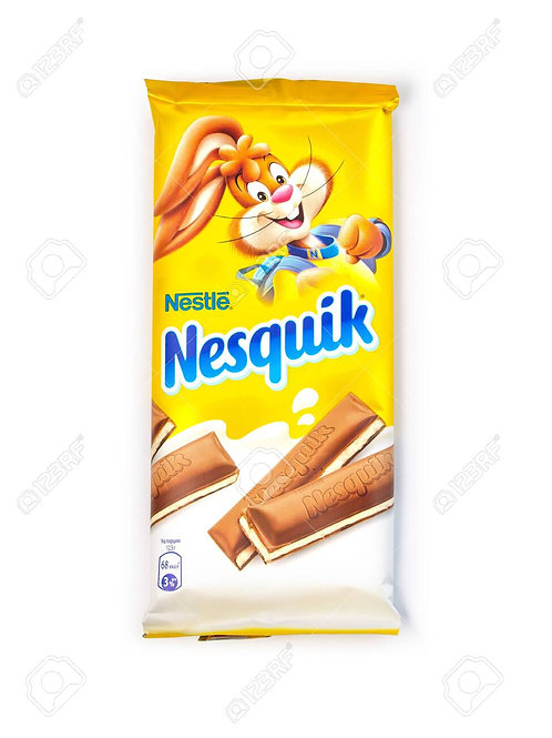 nesquik chocolate bar