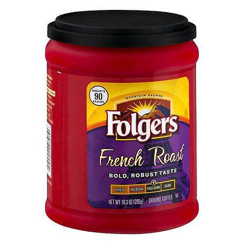 flogers french roast coffe