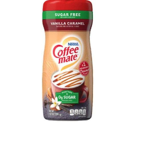 Coffee mate vanilla caramel sugar free