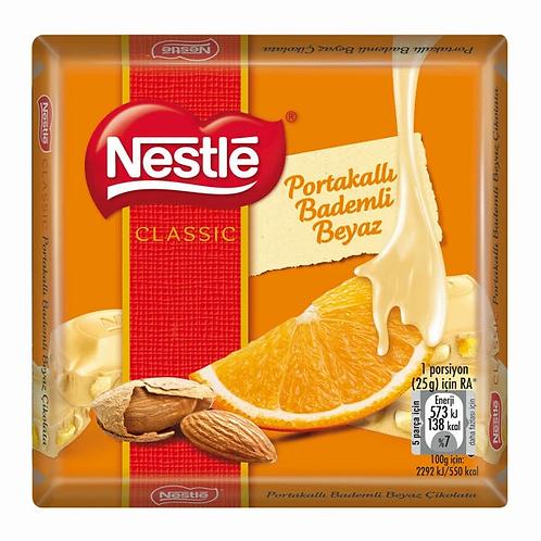 Nestle Classic Portakalli Bademli Beyaz