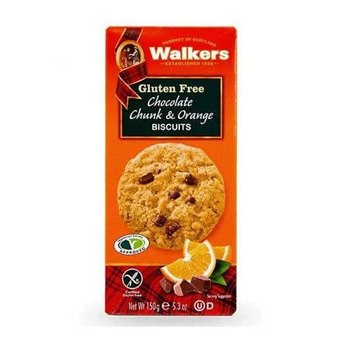 walker cookies gulten free chocolate & orange