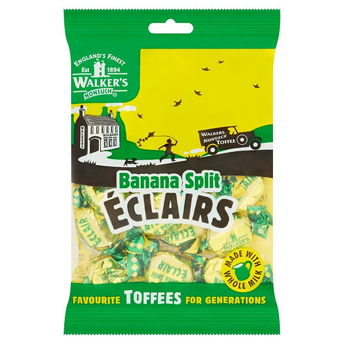 walkers banana split eclairs