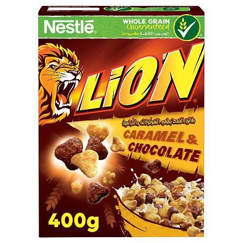 nestle lion  caramel & chocolate