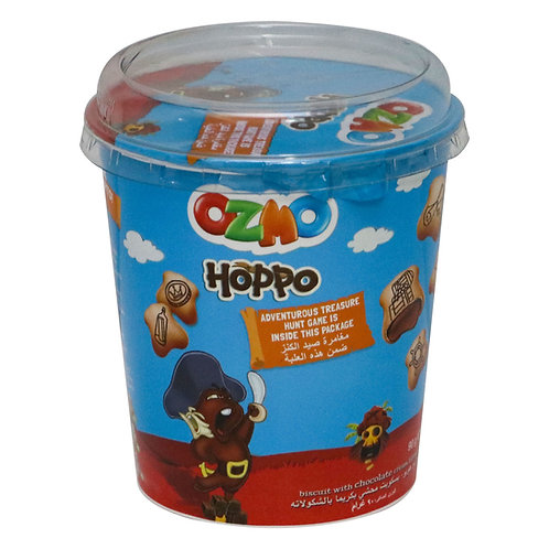 OZMO HOPPO Biscuit With Chocolate Cream Filling 90 g
