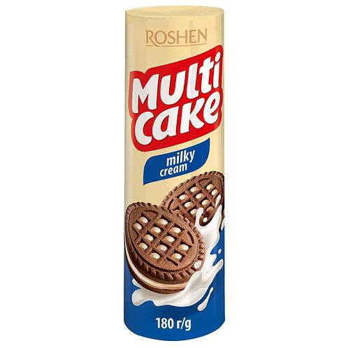 roshen multi cake fruit milky cream