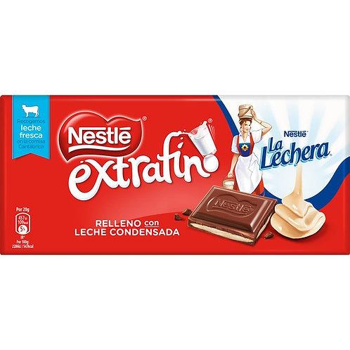 Nestle extrafino RELLENO Con LECHE CONDENSADA 123 g