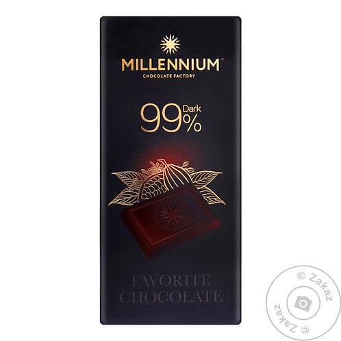 millennium 99 %  dark chocolate
