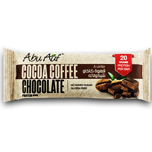 Abu Auf PROTEIN BAR COCOA COFFEE CHOCOLATE 70G