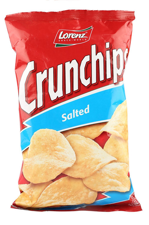 Lorenz Crunchips Salted  100g