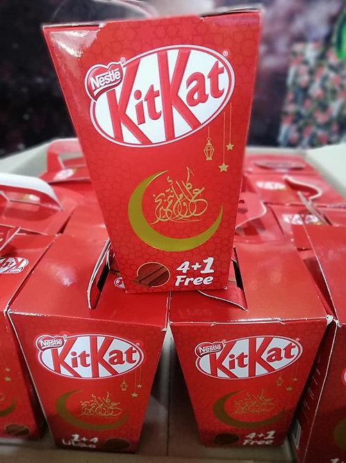 KitKat 4+1 FREE 102 g