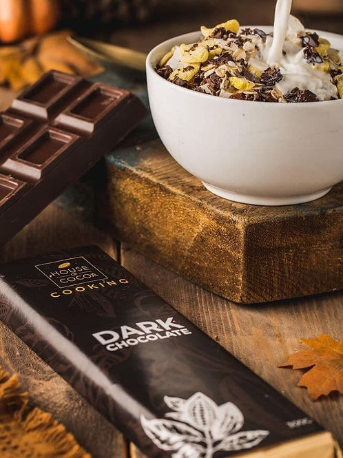 HOUSE Of COCOA COOKING DARK CHOCOLATE 300G