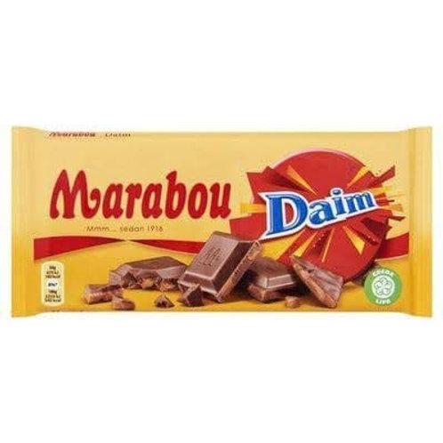 Marabou daim chocolate 100 g