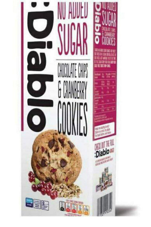 Diablo chocolate chips & cranberry