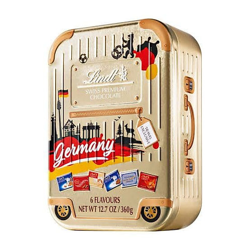 Lindt swiss premium chocolate Germany box