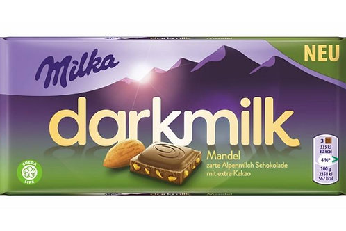 Milka dark milk (Mandel)