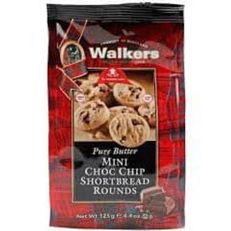 walkers mini choco chip shortbread rounds