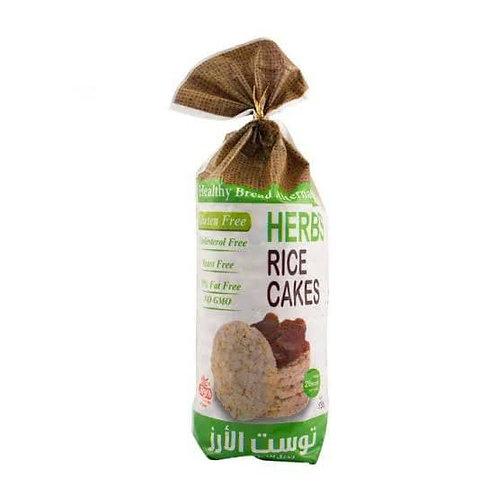 herbes rice cakes