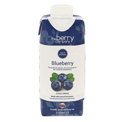 the berry company Blueberry 330ml