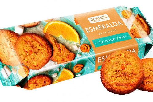 roshen esmeralda biscuits orange zest