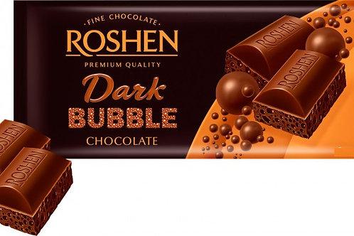 ROSHEN Dark  BUBBLE CHOCOLATE 80G