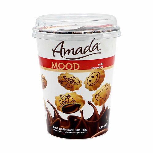 Amada MOOD Biscuit With Chocolate Cream Filling 135 g
