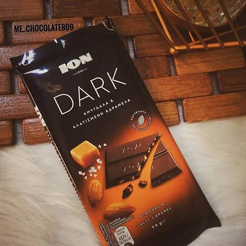Ion dark caramel & almond