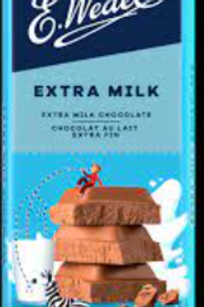 E.Wedel EXTRA MILK CHOCOLATE 100g