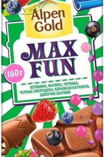 ALPEN GOLD MAX FUN STRAWBERRY