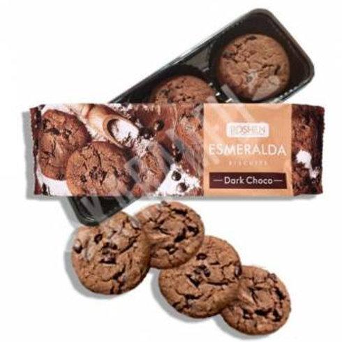 roshen esmeralda biscuits dark choco