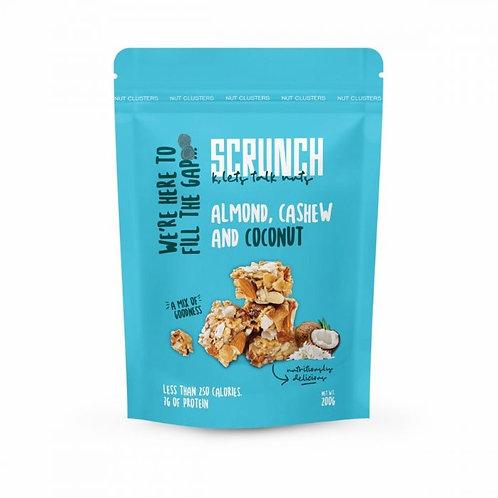 scrunch almonde cashew and coconut