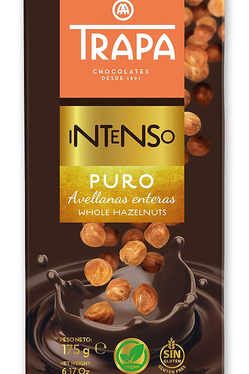 TRAPA INTENSO PURO WHOLE HAZELNUT 190G