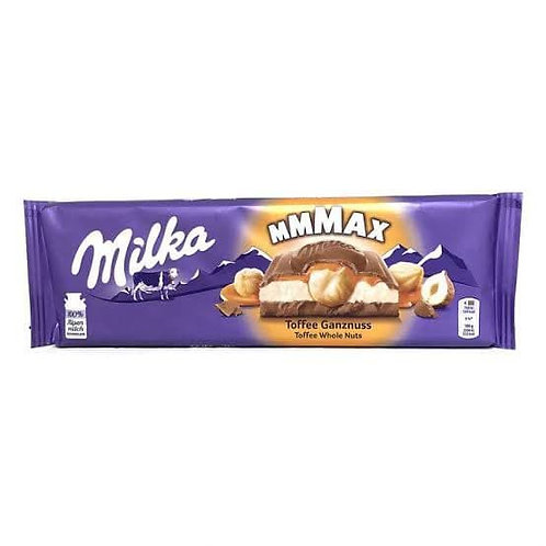 milka maxx toffee ganznuss