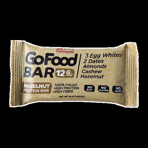 ASN ADVANCED Go Food BAR HAZELNUT PROTEIN BAR 56 G
