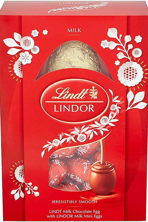Lindt LINDOR MILK egg 226g