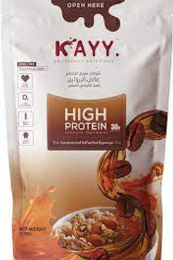 KAYY HIGHT  PROTEIN THE Caramel and Toffee Nut Espresso One   300 G