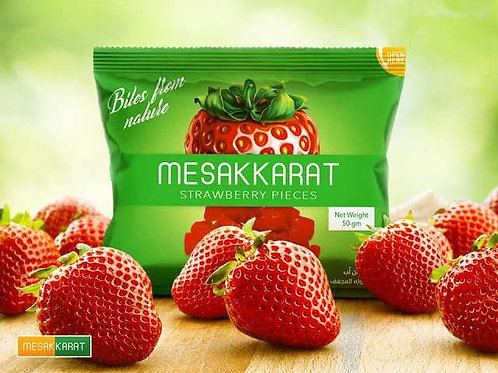 MESAKKARAT STRAWBERRY PIECES 50 g