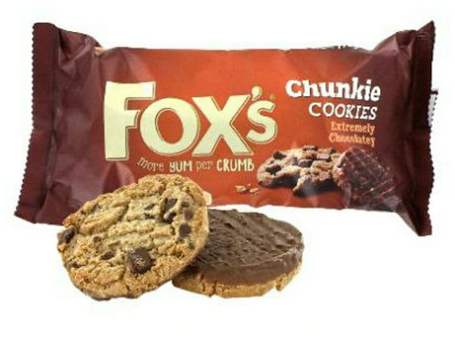 Fox extreme chocolate cookies