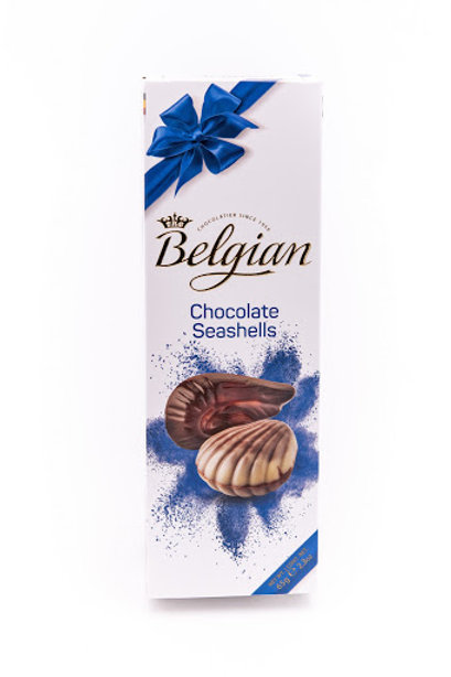 Belgian Chocolate Seashells 60 g