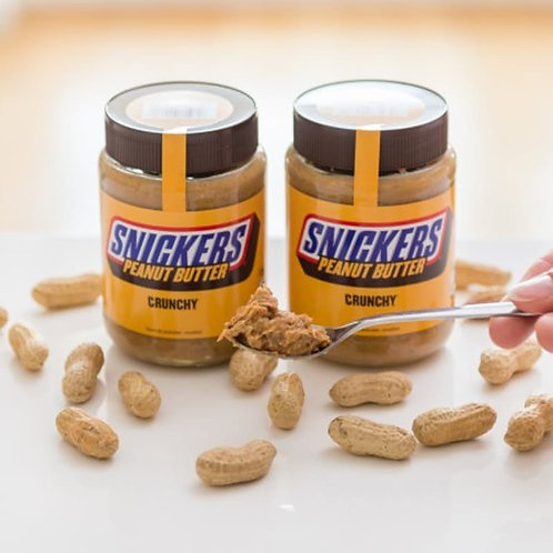 snickers peanut butter crunchy spread