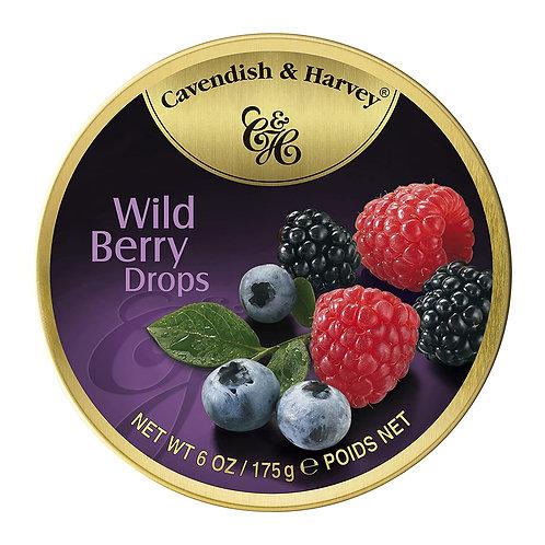 cavendish & harvey wild berry drops