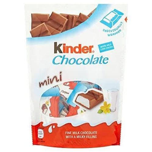 kinder chocolate mini bag