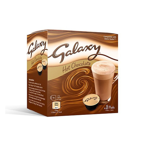 Galaxy hot chocolate pods