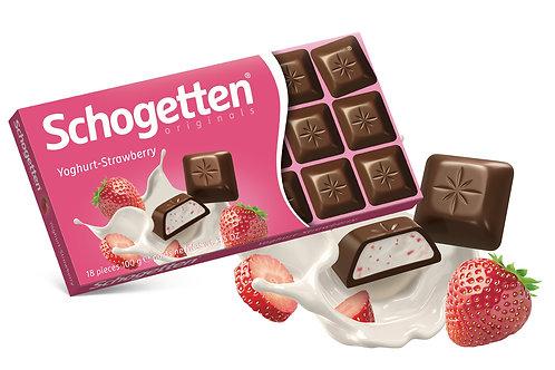 Schogetten Yoghurt-Strawberry   100g