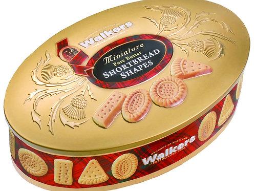 Walkers shortbread shapes box