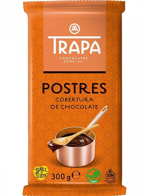 TRAPA POSTRES COBERTURA DE CHOCOLATE 300 G
