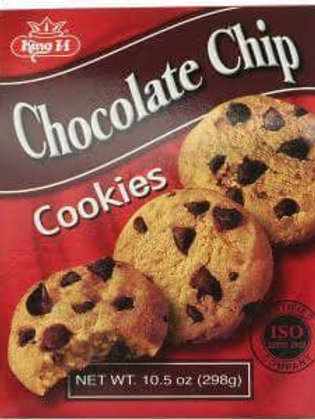king m chocolate chips cookies